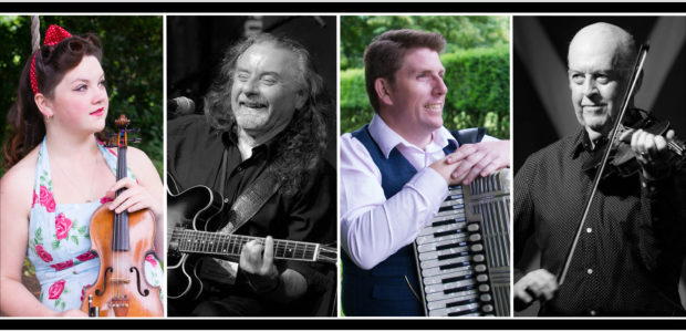 Full Tilt, which brings together the musical talents of Gemma Donald, Brian Nicholson, Alan Small and Manus McGuire, will be playing in the town on Friday, August 23.