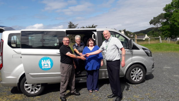 Pioneering minibus scheme will open up opportunities for many people in Gairloch | Press and Journal