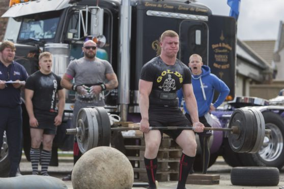 No challengers for Caithness strong man | Press and Journal