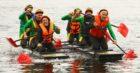 Oban Annual Raft Race.