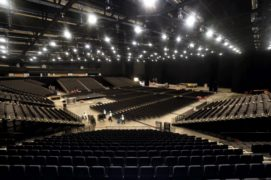 The main concert arena at P&J Live.