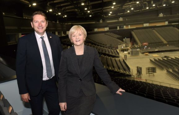 Aberdeen City Co-Councillors Douglas Lumsden and Jenny Laing.