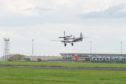 Spitfire arrives at RAF lossiemouth