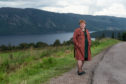 Council Leader Margaret Davidson at a view point near the site of the proposed red John hydro scheme.