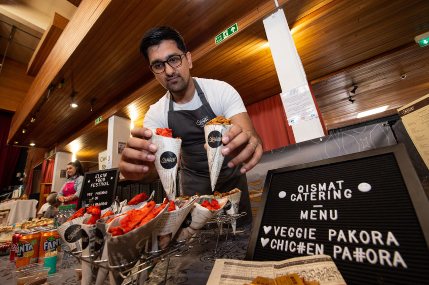 Balal Ali from Qismet's at Elgin Food and Drink Festival 2019