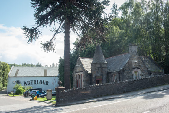 Aberlour Distillery in Aberlour, Moray.
