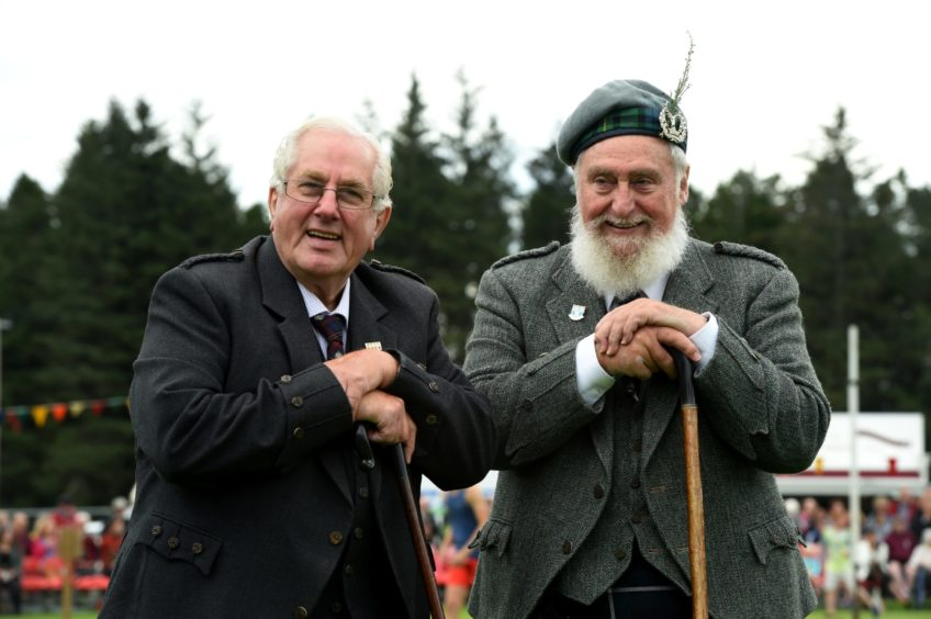 The Lonach Highland Gathering & Games,. Picture by Kenny Elrick