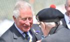 The Duke of Rothesay in good form while meeting attendees at the Ballater Highland Games.