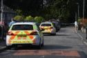 Police presence in Ellon