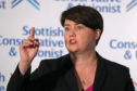 Ruth Davidson announcing her resignation as leader of the Scottish Conservatives