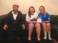 Phil, Isla and Eilidh