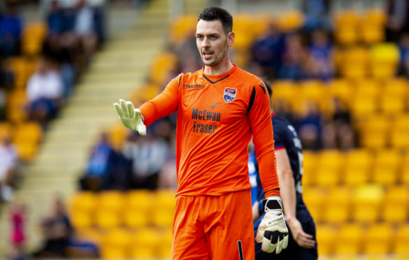 21/07/19 BETFRED CUP GROUP B ST JOHNSTONE V ROSS COUNTY MCDIARMID PARK - PERTH Ross Laidlaw in action for Ross County