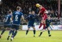 Aberdeen's Sam Cosgrove scores in extra time to make it 2-1