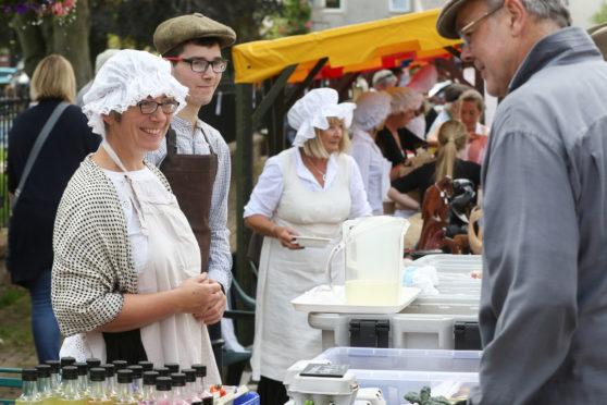 Black Isle village celebrates its ancient burgh fair | Press and Journal