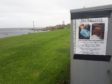 Missing poster for Ruairidh Sandison on Gadle Braes where he was last seen a week ago