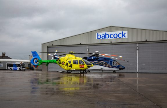 Scotland's Charity Air Ambulance (SCAA) has agreed a contract with Babcock to launch a new air ambulance service from Aberdeen International Airport.