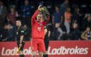 Peterhead goalkeeper Greg Fleming.