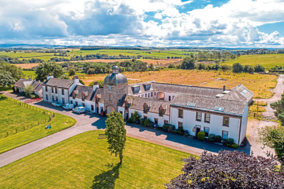 Auchincruive is for sale for offers over £1.25m.