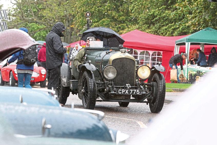 Grantown-on-Spey car rally.