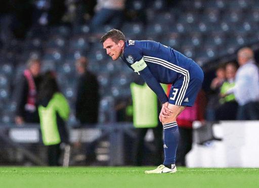 Andy Robertson of Scotland