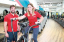 l-r Aberdeen Sports Village personal trainers John Owens and Agata Kurjanska