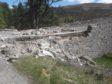 The damage to Gairnshiel bridge