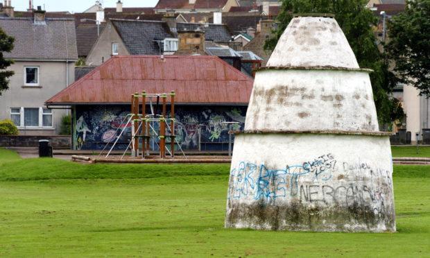 Doocot Park in New Elgin.