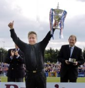 Five highlights from John Robertson's career as the Caley Thistle manager is inducted into the Scottish Football Hall of Fame
