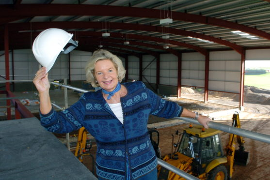 Councillor Jill Wisely at the Transition Extreme Sports Centre