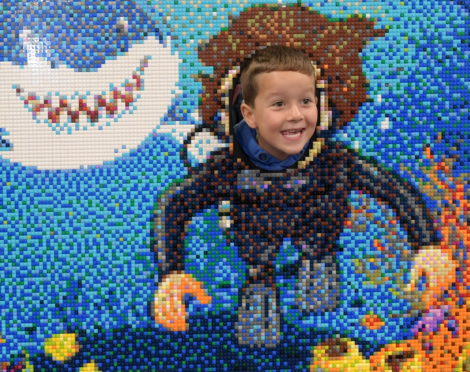 Visitors of all ages have fun at BRICKLIVE at P&J Live | Press and Journal