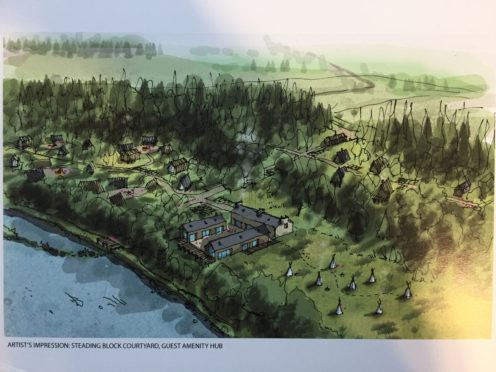 Dame Ann Gloag's Beaufort estate reveals plans for holiday village   Press and Journal