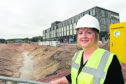 General manager of Courtyard by Marriott Inverness Airport, Ina Davies.  Picture by Sandy McCook