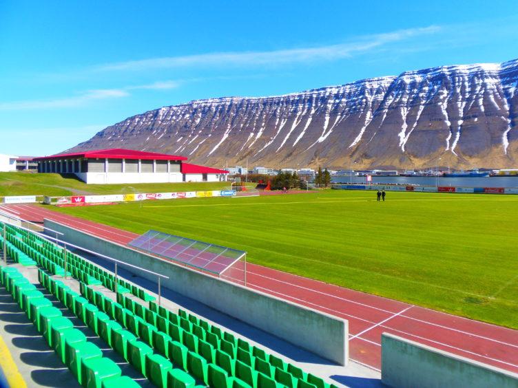 Isafjordur, 34 miles from Arctic Circle