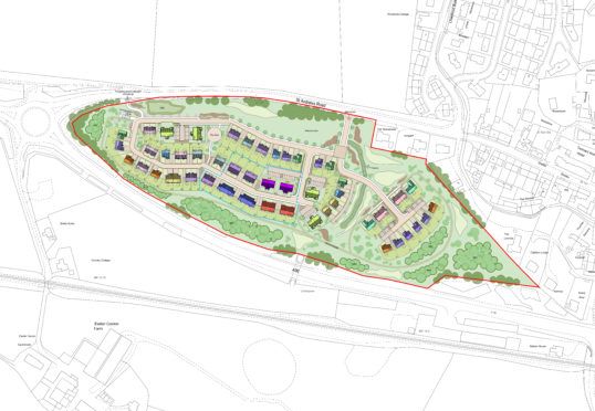 Nearly 100 new homes proposed for Moray village | Press and Journal