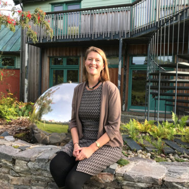 Caroline Inckle is the new Executive Director of Moray Art Centre