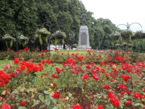 Forres War Memorial.