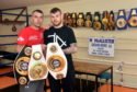 Lee McAllister and Nathan Beattie at Assassin Health and Fitness Village.