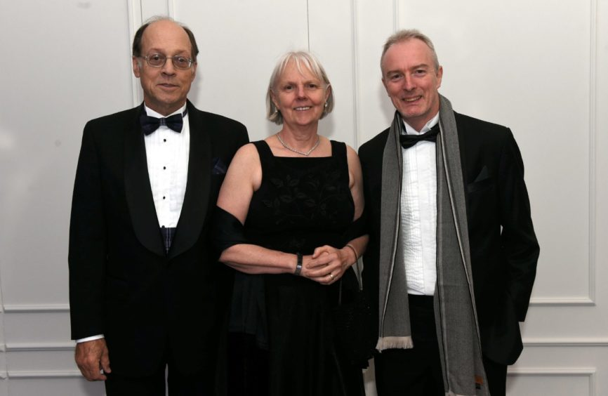 Pictured from left, Bill and Greta Lydecker and Jim O'Donnell.  Picture by HEATHER FOWLIE