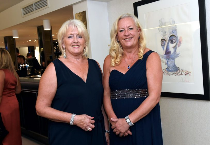 Pictured from left, Lorraine Reynolds and Mandy Smith.  Picture by HEATHER FOWLIE