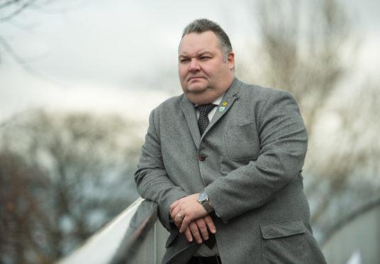 Moray Council leader Graham Leadbitter.