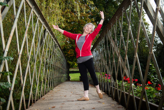 Fiona Hay has devised ballet classes for the over 55s.