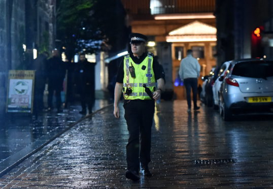 Keeping Aberdeen's night-time streets safe: The P&J spends an evening with the police | Press and Journal