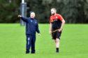 Gordonians head coach Ryan Morrice (left)