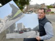 Allan Davidson, managing director of Bricks Capital Hotels with impressions of the new hotel which is proposed for the Ironworks site in Inverness.