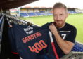 Michael Gardyne clocked up his 400th appearance for Ross County at the weekend.