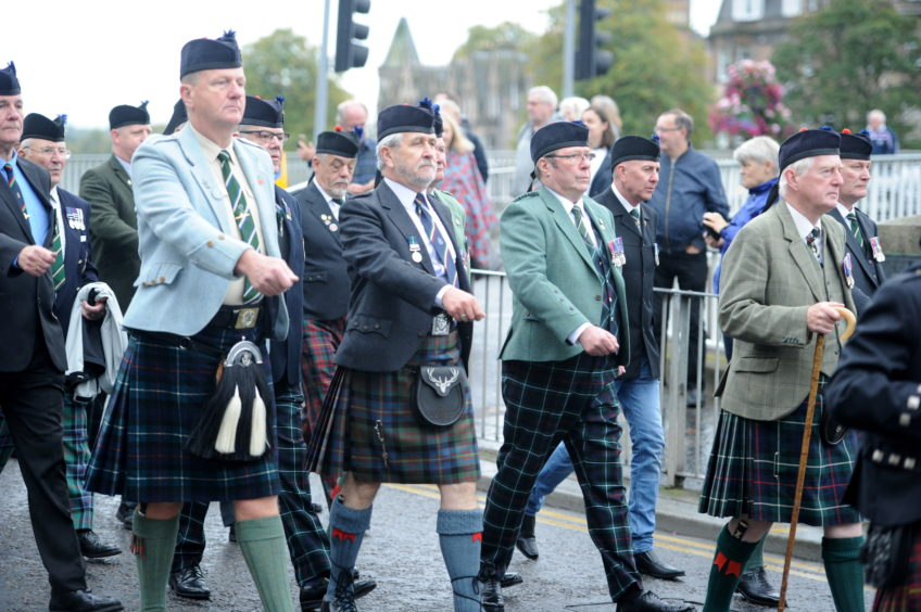 The Queens Own Highlanders regiment was only in operation for 33-years. Picture by Sandy McCook
