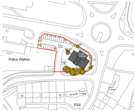 Plans for the site.