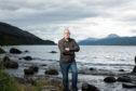 Professor Neil Gemmell beside Loch Ness,