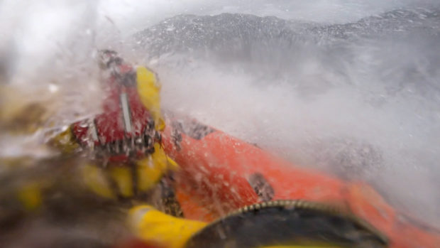 Pictures show 'unusually challenging' conditions Loch Ness lifeboat crew faced after tent spotted in water | Press and Journal