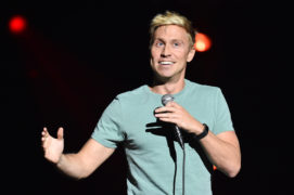 Comedian Russell Howard performed at P&J Live this evening.